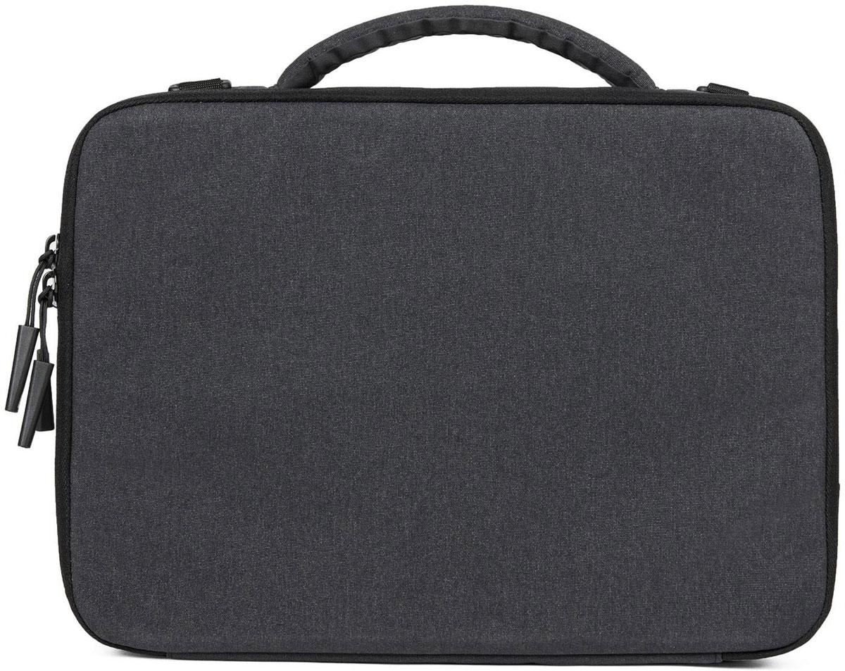 Incase Reform Collection, Black сумка для ноутбука 13CL60653Сумка Incase Reform Collection черного цвета станет незаменимой спутницей всех тех, кто ценит лаконичные и презентабельные аксессуары.Модель создана для ноутбуков с диагональю экрана, не превышающей 13 дюймов. Сумка произведена из материала, который выгодно отличается неприхотливостью в уходе и презентабельным внешним видом даже после нескольких лет эксплуатации.Данный аксессуар надежно закрывается на молнию - таким образом, вы сможете не беспокоиться за сохранность оставленного внутри ноутбука.