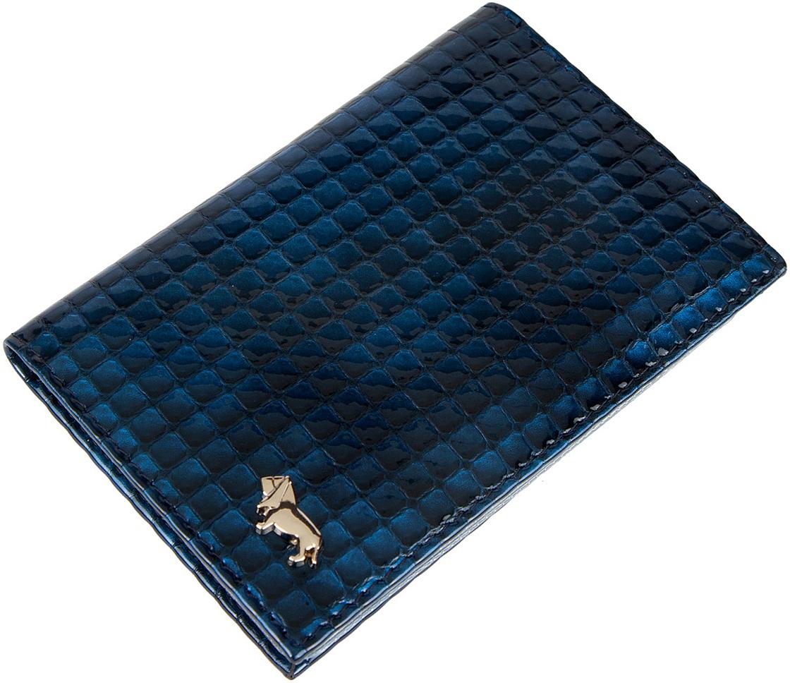 купить Обложка для автодокументов женская Labbra, цвет: синий. L053-1613 недорого