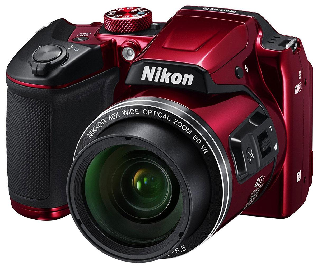 Nikon Coolpix B500, Red цифровая фотокамера - Цифровые фотоаппараты