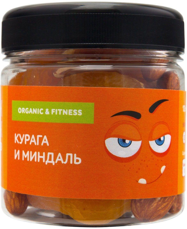 Snack-Snack курага и миндаль, 120 г