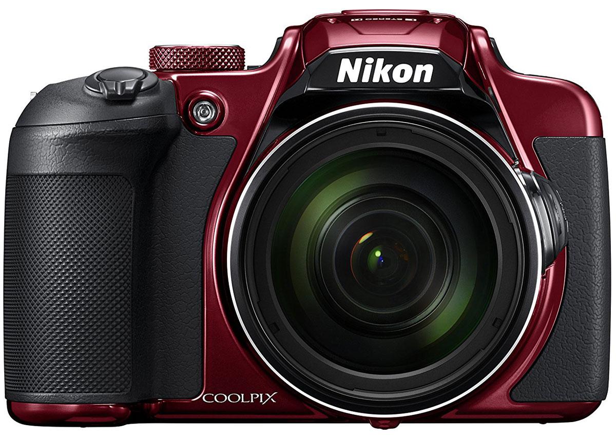 Nikon Coolpix B700, Red цифровая фотокамераVNA931E1Создавайте изображения с высокой детализацией с помощью 20,3-мегапиксельной фотокамеры Nikon Coolpix B700 с мощным зум-объективом.Оцените легендарное качество оптики NIKKOR в объективе с элементами из стекла ED, 60-кратным оптическим зумом, который можно увеличить до 120-кратного с помощью функции Dynamic Fine Zoom, позволяющим снимать на невероятных расстояниях, а также высокопроизводительной системой автофокусировки (АФ), обеспечивающей высокую точность съемки. Записывайте отвечающие требованиям завтрашнего дня видеоролики в формате 4K UHD и снимайте фотографии в формате RAW (NRW), обеспечивающем высочайшее качество изображений. Система Dual Detect Optical VR (подавление вибраций), позволяющая увеличить выдержку на 5 ступеней, и боковой рычажок зуммирования сводят к минимуму влияние дрожания фотокамеры. Кроме того, для съемки можно использовать электронный видоискатель или ЖК-монитор с переменным углом наклона. Поддерживайте соединение фотокамеры с интеллектуальным устройством с помощью приложения SnapBridge.Снимайте диких животных с безопасного расстояния, фотографируйте звезды в ночном небе или ловите самые впечатляющие моменты спортивных соревнований, используя объектив NIKKOR со сверхмощным 60-кратным оптическим зумом, который можно расширить до 120-кратного с помощью функции Dynamic Fine Zoom. Диапазон зуммирования охватывает углы зрения от широкоугольного 24 мм до супертелефото 1440 мм (эквивалент для формата 35 мм), а также поддерживает макросъемку объектов, расположенных на расстоянии всего 1 см от объектива. Залогом превосходных результатов является надежная оптика NIKKOR с использованием стекла Super ED. Конструкция объектива с элементом из стекла Super ED обладает улучшенными характеристиками, в том числе чрезвычайно высокой способностью к устранению вторичного спектра, что обеспечивает превосходную коррекцию хроматической аберрации.Высокое разрешение КМОП-матрицы фотокамеры позволяет создавать изображе