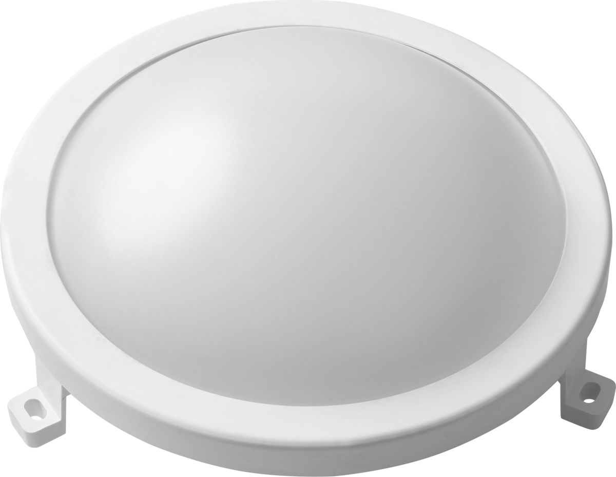 """Светодиодный настенно-потолочный накладной светильник REV """"Line Round"""" с повышенной защитой от пыли и влаги IP65 является полноценной заменой светильников типа НПБ. Подходит для освещения общественных помещений, магазинов, холлов, коридоров. Изготовлен из высококачественного пластика, стойкого к механическим повреждениям.Мощность: 12 Вт.Степень защиты: IP65."""