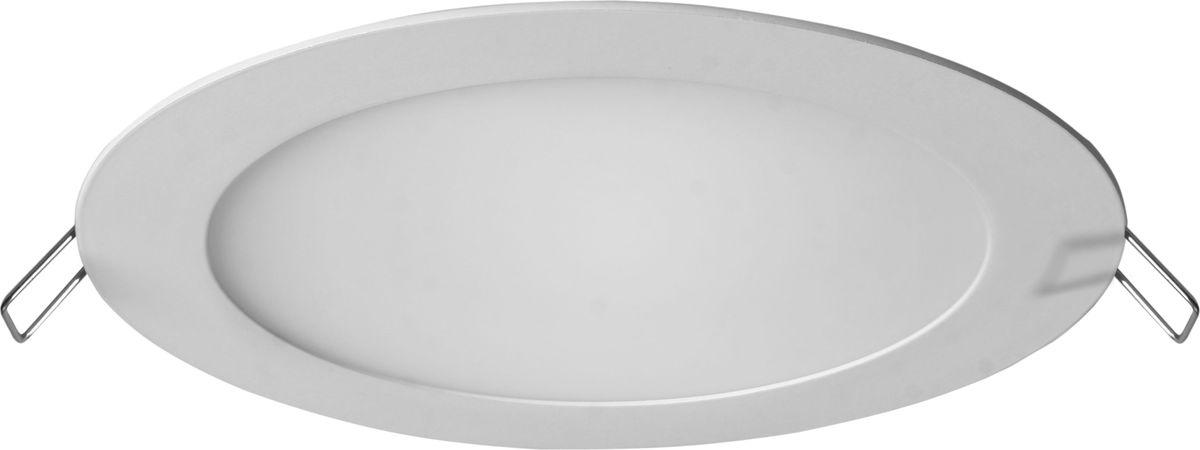 Панель светодиодная REV Super Slim Round, встраиваемая, 8 W, 6500 К, диаметр 12 см. 28940 1