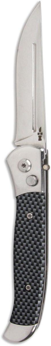 Нож складной автоматический Ножемир Четкий расклад, нержавеющая сталь, общая длина 20 см. A-122 нож ножемир слава россии гагарин кованая сталь с ножнами общая длина 26 5 см