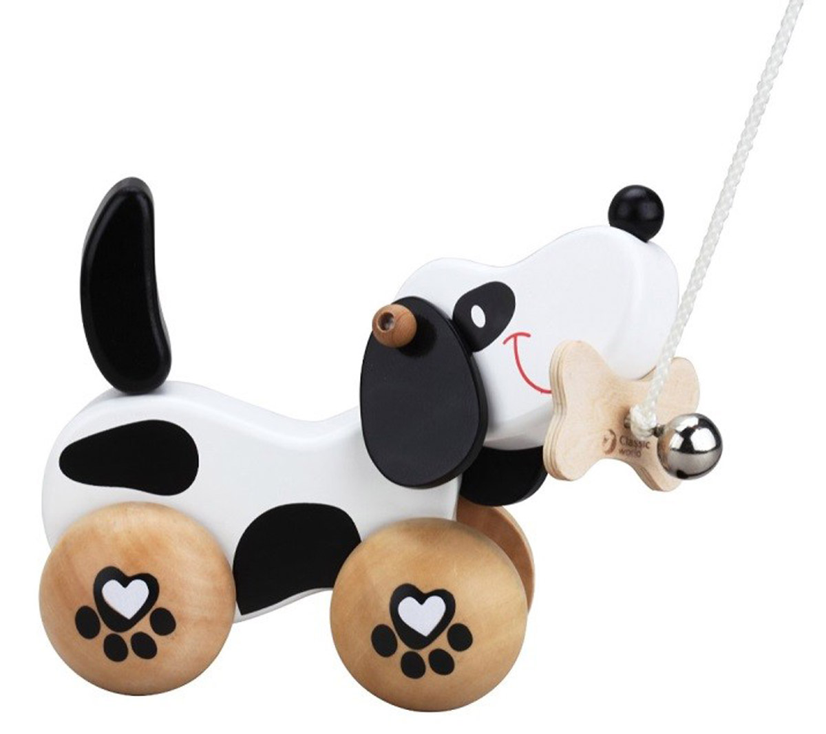 Classic World Игрушка-каталка Щенок большую мягкую игрушку собаку лежа в москве
