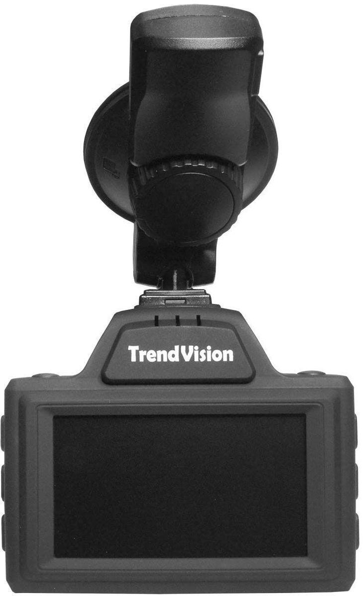 TrendVision Combo, Black видеорегистратор6293235864TrendVision Combo представляет собой устройство 3 в 1. Видеорегистратор, радар-детектор и GPS-информер в одном корпусе. GPS-информер оповещает о камерах и радарах, внесенных в память устройства, в том числе и о камерах, которые не излучают частоту и не могут быть обнаружены обычным радар-детектором. Радар-детектор оповестит о временных радарах и мобильных засадах. Такая конструкция с большей вероятностью позволяет заблаговременно оповестить водителя и избежать штрафов.Мощный процессор Ambarella A7LA50, чувствительный CMOS-сенсор OV4689, светосильный широкоугольный стеклянный объектив позволяют получить качественное видеоизображение даже в сложных условиях. Запись с разрешением 2304х1296, 2560х1080, 1920х1080 или 1280х720 пиксел ( выбирается в меню) со скоростью 30 к/с. Аппаратный режим HDR (широкий динамический диапазон) выравнивает яркость на слишком ярких или затемненных участках. TrendVision Combo имеет миниатюрный корпус для комбинированного устройства, с большим 2.7 монитором. Основные кнопки удобно расположены по бокам. Питание подается в кронштейн. С кронштейна на корпус регистратора питание передается через группу контактов. В случае необходимости, регистратор можно снять, не вынимая кабель питания. Шариковый шарнир позволяет правильно сориентировать устройство.Стильный классический корпус с матовым покрытием станет украшением для салона любого автомобиля.TrendVision Combo имеет развитое программное обеспечение. Автоматическое включение и выключение при подаче питания, автоматическое отключение монитора, циклическая запись без пропусков, отключение микрофона, быстрая регулировка громкости, настройка разрешения и качества записи.Радар-детектор имеет режимы работы отличающиеся чувствительностью: ГОРОД, ГОРОД-1, ТРАССА, АВТОМАТИЧЕСКИЙ РЕЖИМ с индивидуальной настройкой скорости, ниже которой не производится оповещение о радарах, для исключения помех. Информирование о излучающих радарах происходит голосовым сообщ