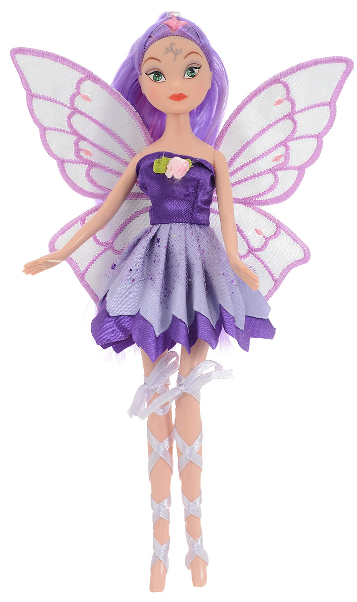 S+S Toys Кукла Фея волшебница цвет фиолетовый кукла s s toys 1025 doll
