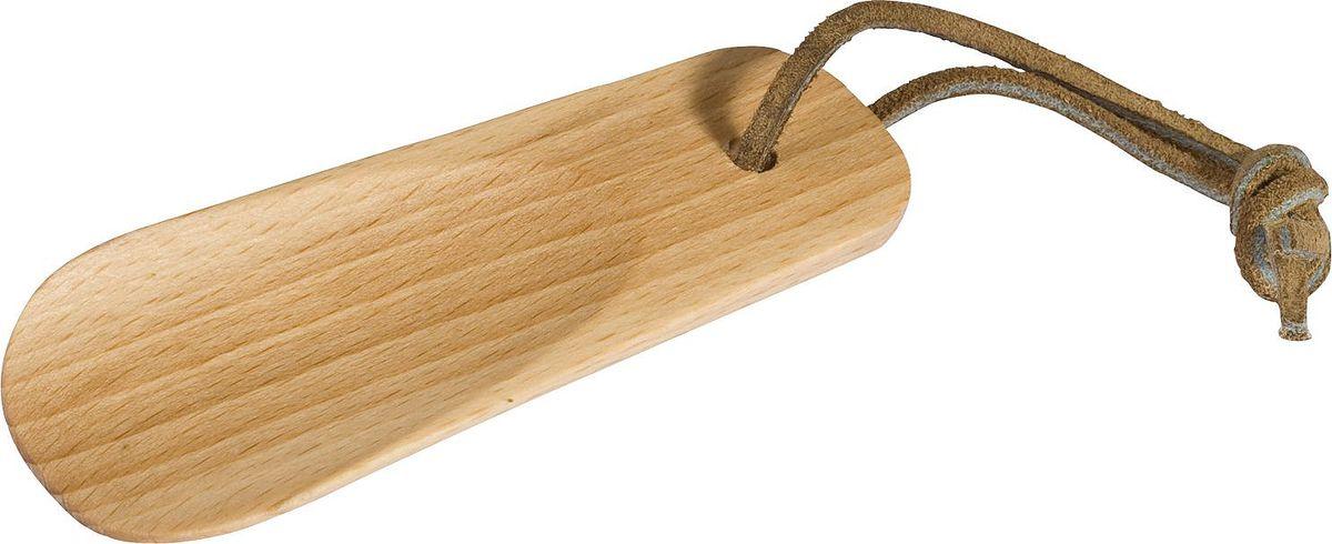 Рожок для обуви Redecker, маленький, длина 11 см380011Компактный рожок для обуви, который удобно всегда держать при себе. Не занимает много места при хранении и оснащен петелькой для подвешивания. Изготовлен из натурального дерева, за счет чего имеет износостойкую и долговечную конструкцию.