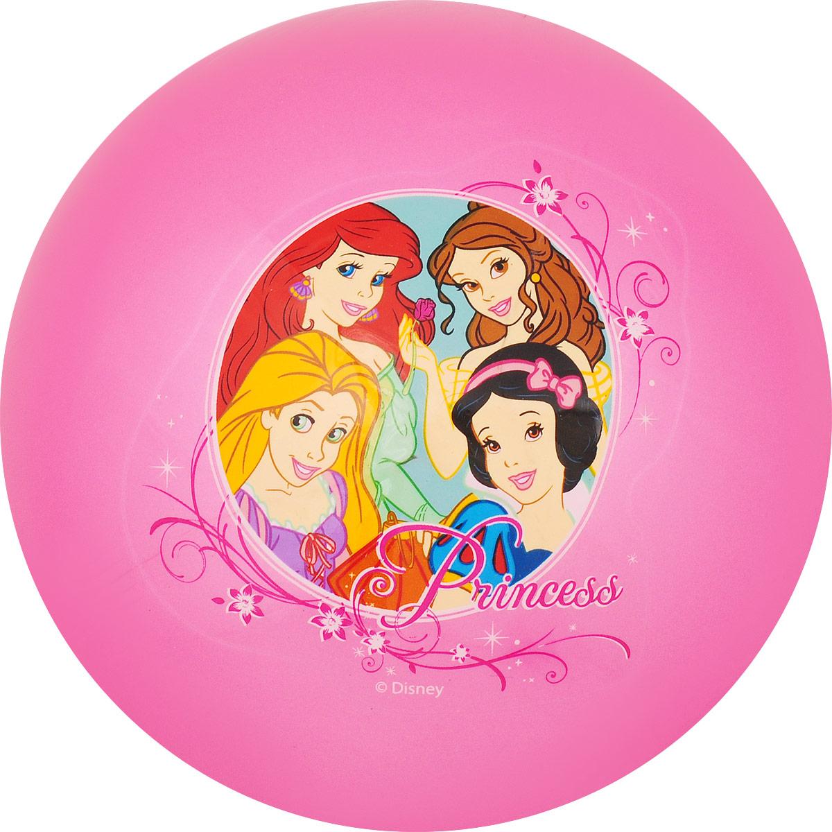 Играем вместе Мяч Принцессы цвет розовый 23 см