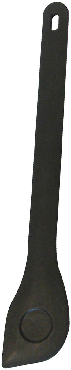 Ложка для помешивания Axentia, длина 30 см201086Ложка Axentia изготовлена из полиамида, который не царапает покрытие кастрюль и сковородок. Такая ложка идеально подходит для приготовления и помешивания пищи. Ручка изделия оснащена отверстием для подвешивания на крючок. Можно мыть в посудомоечной машине.Длина ложки: 30 см.