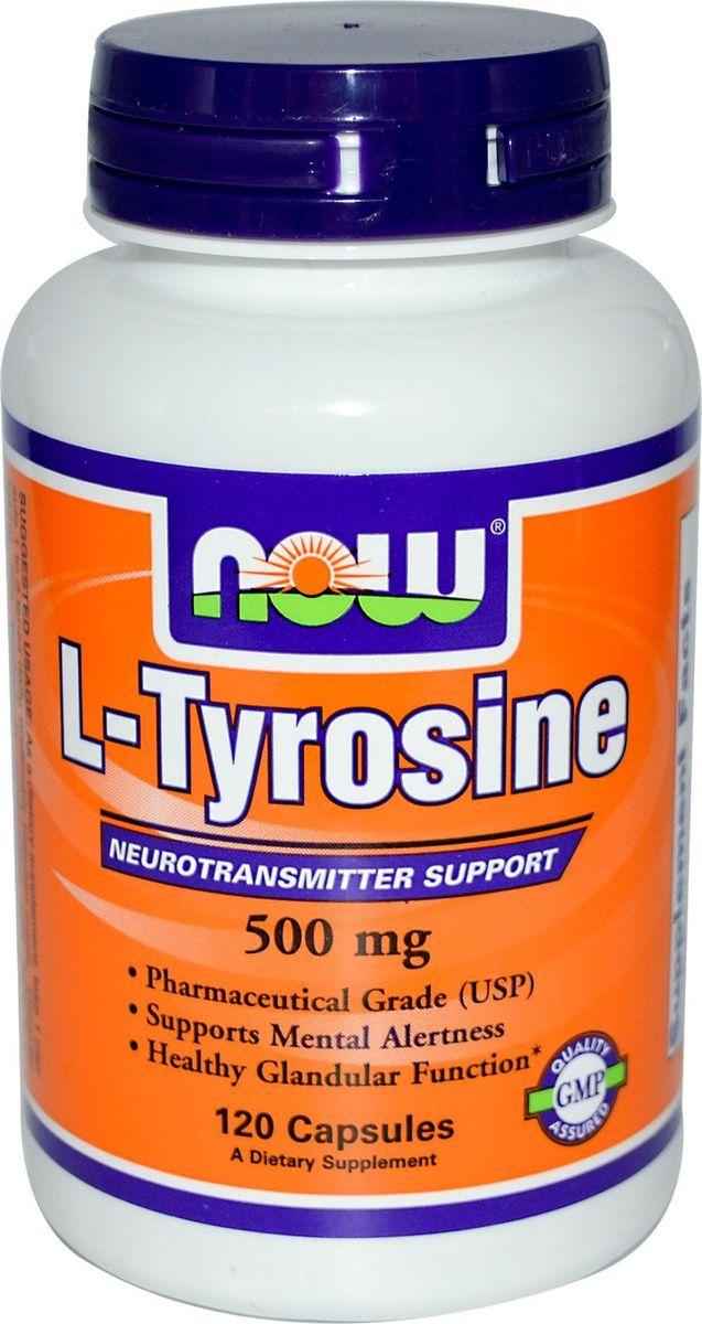 Л-Тирозин Now Foods L-Tyrosine 500mg, 120 капсNF0162Товар не является лекарственным средством.Товар не рекомендован для лиц младше 18 лет.Могут быть противопоказания и следует предварительно проконсультироваться со специалистом.