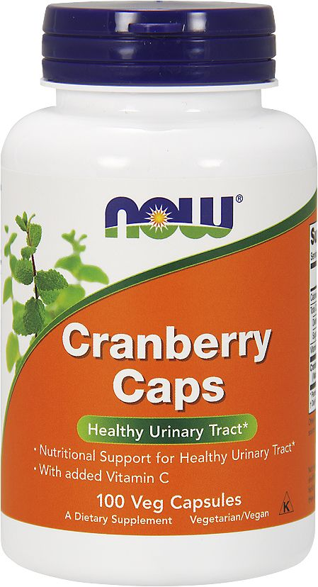 Антиоксидант Now Foods Cranberry Caps 700mg, 100 капс now foods candida support 90 veg capsules free shipping