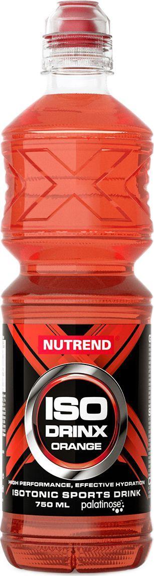 Изотонический напиток Nutrend Isodrinx, апельсин, 750 млNTD3672Изотонический напиток Nutrend Isodrinx в специальной эргономичной бутылке с мембраной, которая предотвращает случайный разлив напитков и точно подходит в велосипедную корзину.Isodrinx имеет приятный вкус, отвечает физиологическим требованиям для пополнения потерянной жидкости организмом, минералов и энергии при интенсивной физической активности (60 минут). Для эффективного регулирования и способности регенерации напиток обогащенный смесью витаминов.Товар не является лекарственным средством.Товар не рекомендован для лиц младше 18 лет.Могут быть противопоказания и следует предварительно проконсультироваться со специалистом. Как повысить эффективность тренировок с помощью спортивного питания? Статья OZON Гид