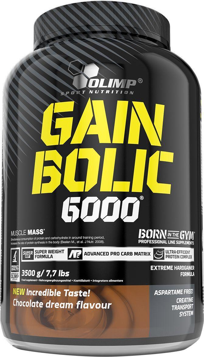 Гейнер Olimp Sport Nutrition Gain Bolic 6000, шоколад, 3500 г протеин olimp sport nutrition provit 80 ваниль 700 г