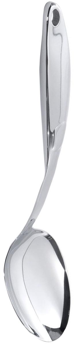 Ложка сервировочная BergHOFF Straight, длина 34 см1105475Ложка сервировочная BergHOFF Straight выполнена из высококачественной нержавеющей стали. Высокая прочность и долговечность в использовании. Зеркальная полировка рабочих частей.