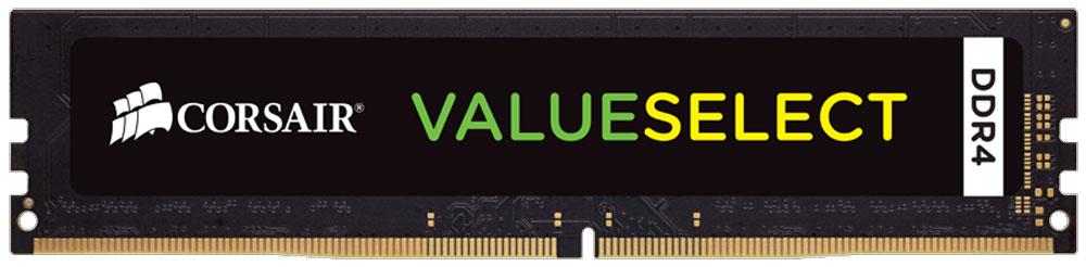 Corsair ValueSelect DDR4 16Gb 2400 МГц модуль оперативной памяти (CMV16GX4M1A2400C16)CMV16GX4M1A2400C16Модули памяти Corsair ValueSelect DDR4 разработаны для опережения отраслевых стандартов, чтобы гарантировать максимальную совместимость практически со всеми ПК Intel 6-го и 7-го поколения. Они собраны из лучших компонентов и тщательно проверены для обеспечения стабильной и надежной работы.