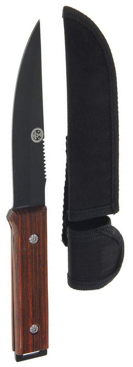 Нож разделочный Sima-land, длина лезвия 12,8 см. 12775831277583Лезвие ножа Sima-land выполнено из стали, рукоять - из дерева. Нож практически не подвержен износу и способен служить годами. Такой инструмент будет вашим постоянным спутником во время охоты или рыбалки.Нож - неотъемлемый атрибут настоящего мужчины. Издревле ножи и клинки вручались знатным особам за проявление отваги и чести на военной службе. Такие подарки очень ценились и становились семейными реликвиями. Сегодня нож - это прекрасный подарок, который подойдет любому мужчине.Длина лезвия: 12,8 см.Длина рукояти: 11,5 см.В комплекте чехол из текстиля.