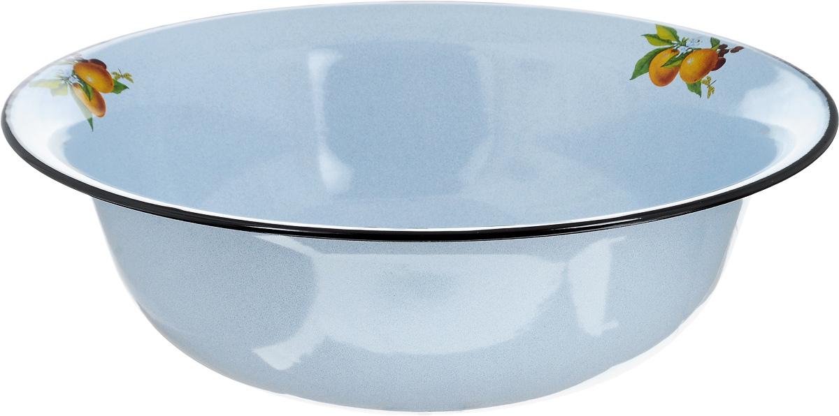 Таз Лысьвенские эмали, 9 л. С-3021/5РбС-3021/5РбТаз Лысьвенские эмали изготовлен из высококачественной стали с эмалированным покрытием. Эмалевое покрытие, являясь стекольной массой, не вызывает аллергию и надежно защищает пищу от контакта с металлом. Кроме того, такое покрытие долговечно, устойчиво к механическому воздействию, не царапается и не сходит, а стальная основа практически не подвержена механической деформации, благодаря чему срок эксплуатации увеличивается.Эмалированный таз является универсальным хозяйственным инвентарем и необходимым предметом для дачника: в нем удобно хранить и готовить продукты, а также собирать ягоды, фрукты и овощи. Таз широкий и невысокий, он идеально подходит для варки варенья, так как жидкость быстрее испаряется. Диаметр таза (по верхнему краю): 40 см. Высота таза: 13,5 см.