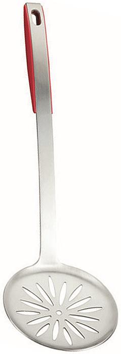 Шумовка Metaltex Design++, длина 37 см23.80.08Шумовка Metaltex Design++ займет достойное место среди аксессуаров на вашей кухне. Оригинальный дизайн и качество исполнения не оставят равнодушными ни тех, кто любит готовить, ни опытных профессионалов-поваров.Ручка шумовки выполнена из высококачественной нержавеющей стали. Пластиковая вставка в ручке не позволит выскользнуть шумовке из вашей руки. Материал рабочей поверхности - высококачественная пищевая сталь 18/10 с применением передовых и традиционных технологий. Сталь с таким сплавом широко используется во всем мире и благодаря своим свойствам часто называется хирургической. Изделия из нержавеющей стали исключительно прочны, гигиеничны, не подвержены коррозии и химически устойчивы по отношению к органическим кислотам, солям и щелочам. Изделие можно мыть в посудомоечной машине.