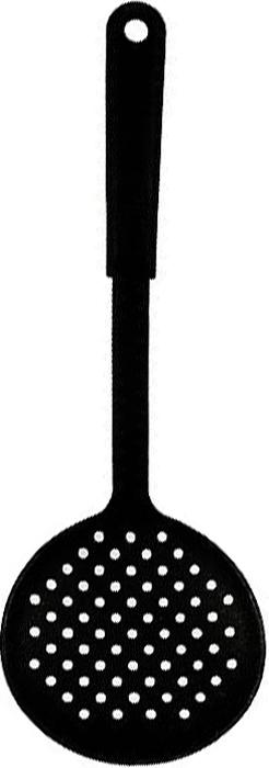 Шумовка Tescoma Space Line. 638020638020Шумовка Tescoma Space Line выполнена из жароупорного материала. Очень удобная ручка не позволит выскользнуть шумовке из вашей руки, а благодаря небольшому ушку можно повесить изделие на кухне. Удобная, большая, плоская ложка поможет Вам без особого труда снять пену, вынуть из кастрюли мясо или рыбу.Характеристики:Материал:пластмасса.Длина (с ручкой):32 см.Производитель: Чехия.Артикул:638020.
