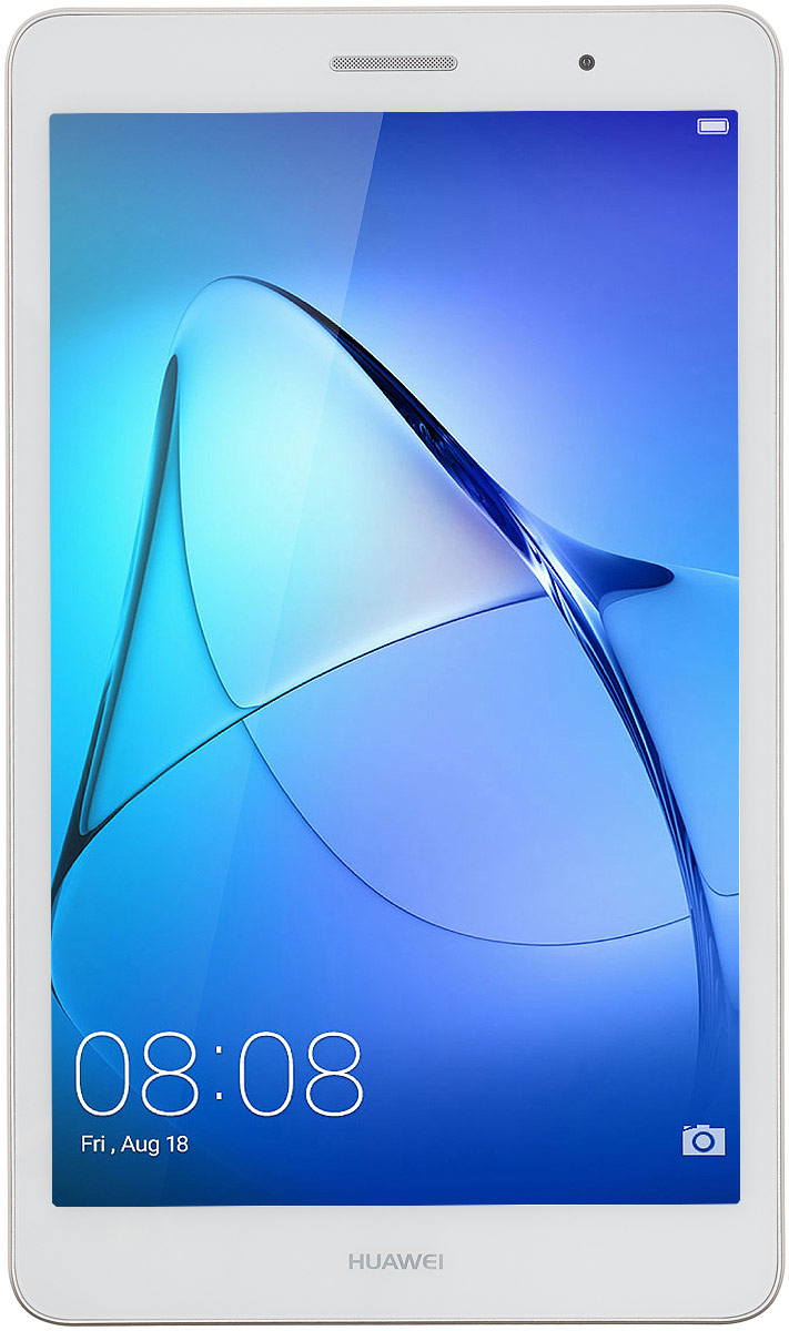 Huawei MediaPad T3 8.0 LTE (16GB), Gold53018494Планшетный компьютер Huawei MediaPad T3 8.0 LTE поддерживает Micro-SIM-карты, обеспечивая вас мобильным интернетом с помощью 3G- и 4G-сетей.Планшет можно удерживать одной рукой, используя в режиме видеосвязи или телефонных переговоров. Толщина корпуса - всего 7,95 миллиметра, а вес - 350 грамм. 8-дюймовый экран модели поддерживает разрешение 1280 x 800 пикселей. В сочетании с высокой плотностью пикселей яркий дисплей обеспечивает комфортные условия для чтения и рабочих документов.Huawei MediaPad T3 8.0 LTE работает под управлением операционной системы Android, изменённой с помощью фирменной оболочки EMUI 5.1. Эта программа облегчает коммуникацию с планшетом и позволяет запускать два приложения на одном экране. Оболочка EMUI предлагает воспользоваться встроенной программой для мобильной связии SMS-клиентом, расширяя функциональность планшета до уровня смартфона.Благодаря емкому аккумулятору 4800 мАч, данный девайс обеспечит вам длительное время автономной работы даже в самых тяжелых режимах.Планшет сертифицирован EAC и имеет русифицированный интерфейс, меню и Руководство пользователя.
