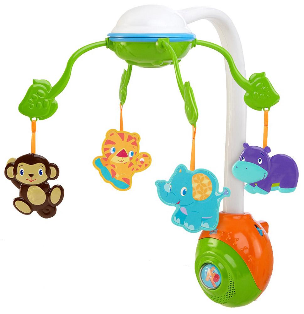 Bright Starts Музыкальный мобиль Сафари 2 в 1 - Игрушки для малышей
