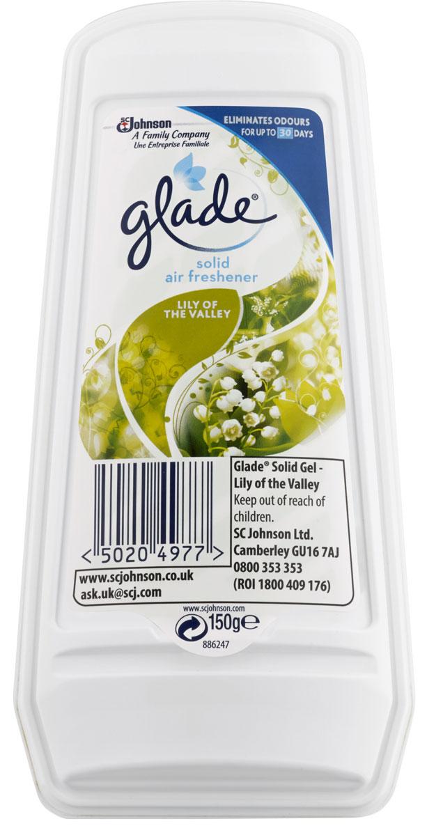 Освежитель воздуха Glade Ландыш, гелевый, 150 г клубничный пищевой гелевый краситель дешево