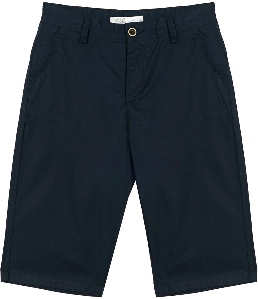 Шорты для мальчика Vitacci, цвет: темно-синий. 1172006-04. Размер 1581172006-04Удобные летние шорты для мальчика из качественного материала отлично подойдут для отдыха и занятия спортом, универсальный цвет позволяет комплектовать с футболкой любого цвета.