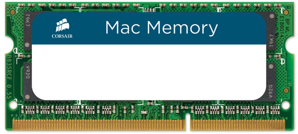 Corsair Mac Memory SO-DIMM DDR3 2х8Gb 1333 МГц комплект модулей оперативной памяти (CMSA16GX3M2A1333C9) 2 гб ddr dimm 200 266 мгц