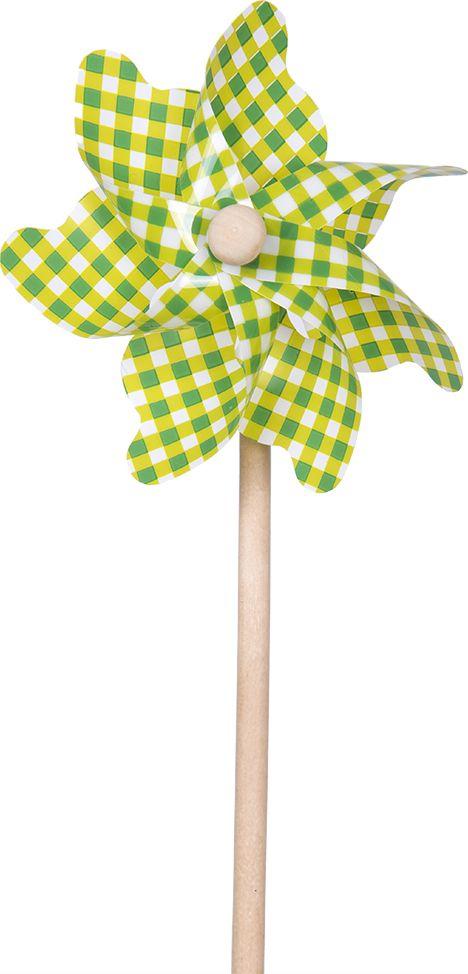 Fresh Trend Вертушка Ветрячок Зеленая клетка 31 см
