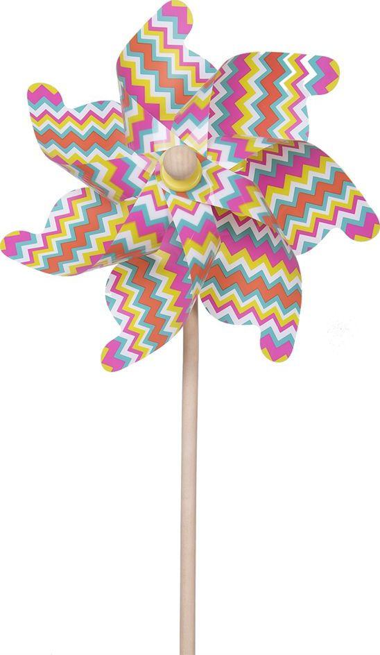 Fresh Trend Вертушка Ветрячок Цветные линии 75 см