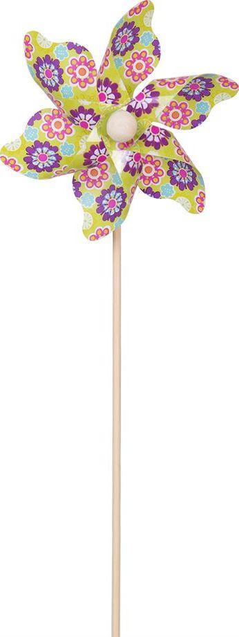 Fresh Trend Вертушка Ветрячок Разноцветные ромашки 28 см