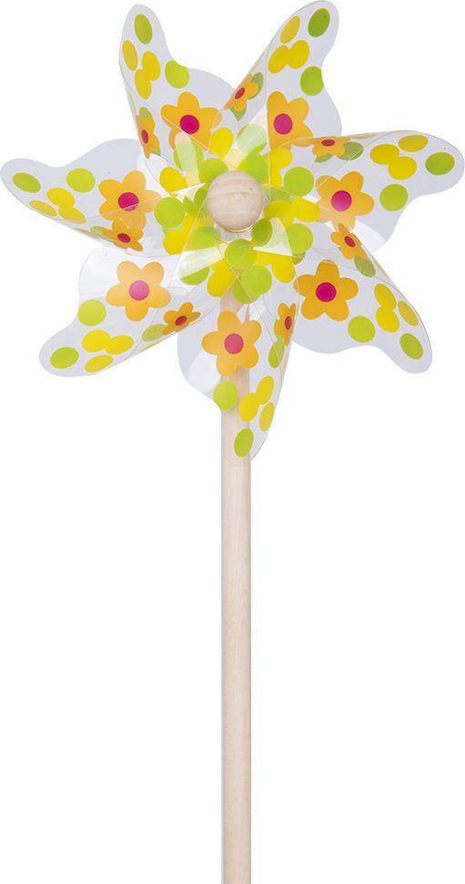 Fresh Trend Вертушка Ветрячок Цветы и горошек 31 см