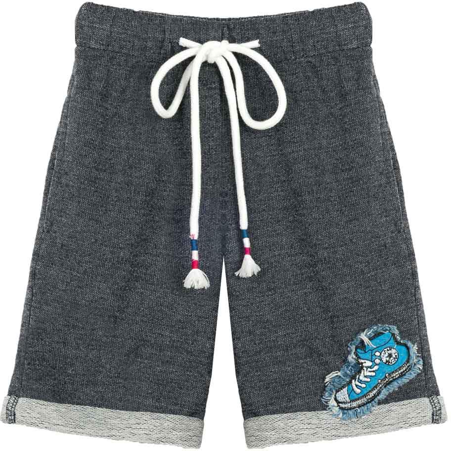 Шорты для мальчика Vitacci, цвет: темно-серый. 1172094-04. Размер 981172094-04Удобные летние шорты для мальчика из качественного материала отлично подойдут для отдыха и занятия спортом, универсальный цвет позволяет комплектовать с футболкой любого цвета.