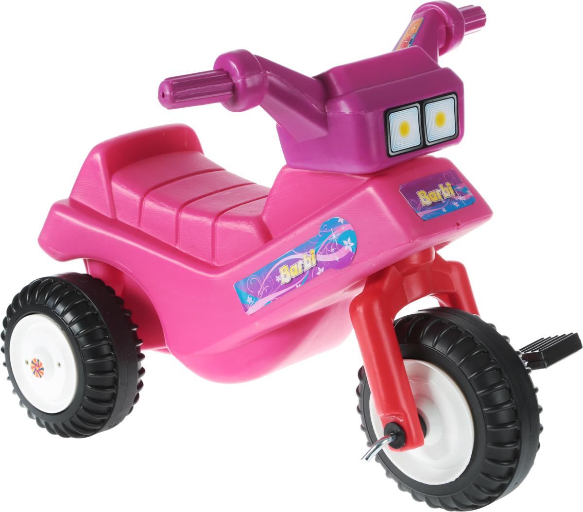 Тeos Велосипед-каталка Барби сменный кен для барби