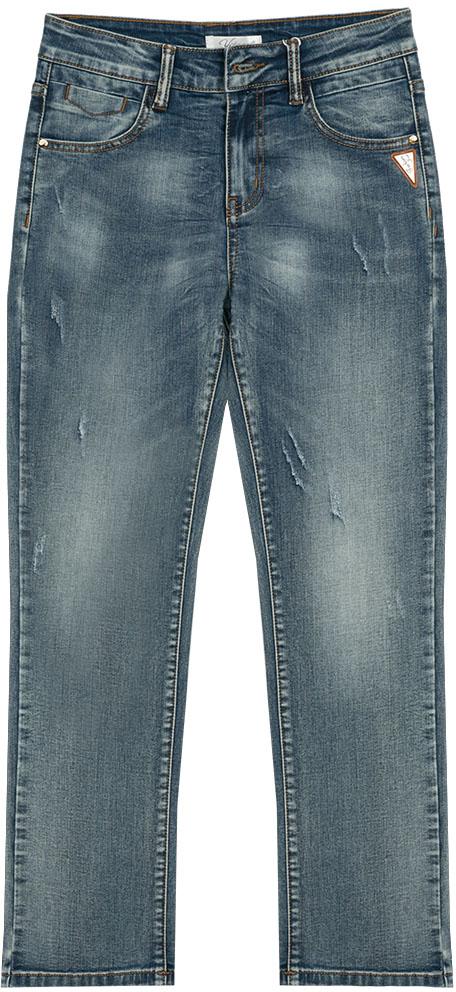 Джинсы для мальчика Vitacci, цвет: синий. 1172140-04. Размер 1461172140-04Джинсы для модных подростков в сочетании с оригинальной футболкой или рубашкой создадут неповторимый образ и позволят чувствовать себя комфортно в любой ситуации.