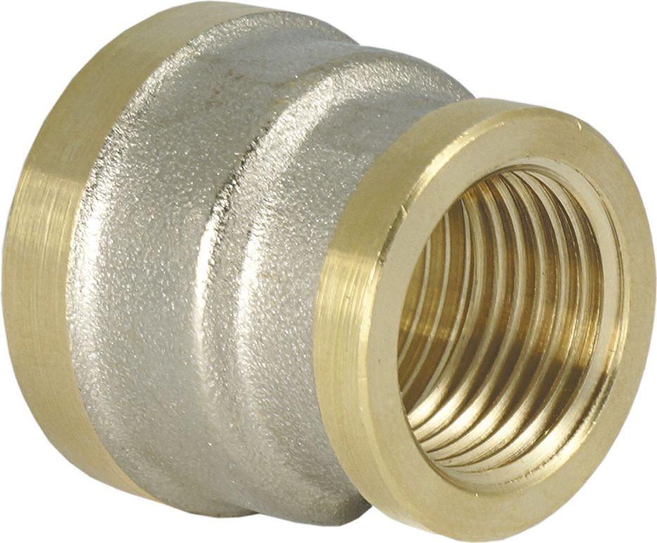 Муфта переходная Smart NS, резьба: внутренняя-внутренняя, 1.1/4 х 3/4ИС.072154Муфта Smart NS 1.1/4 х 3/4 предназначена для соединения труб разного диаметра между собой.Нормативный срок службы: 30 лет.Максимальная рабочая температура: +200°С.Максимальное рабочее давление: 25 бар.