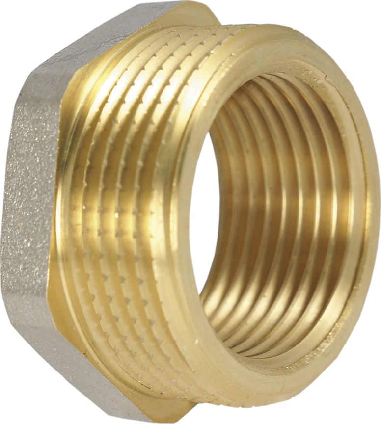 Футорка Smart NS, переходник, резьба: наружная-внутренняя, 1.1/4 х 1ИС.072209Футорка (переходник) Smart NS 1.1/4 х 1 имеет наружную резьбу для соединения с трубой большего диаметра и внутреннюю резьбу для соединения с трубой меньшего диаметра. Футорки используются в основном в системах отопления и водоснабжения, но допускается использование футорок и в других средах, таких как пар, газ, нефть и пр.Нормативный срок службы: 30 лет.Максимальная рабочая температура: +200°С.Максимальное рабочее давление: 40 бар.