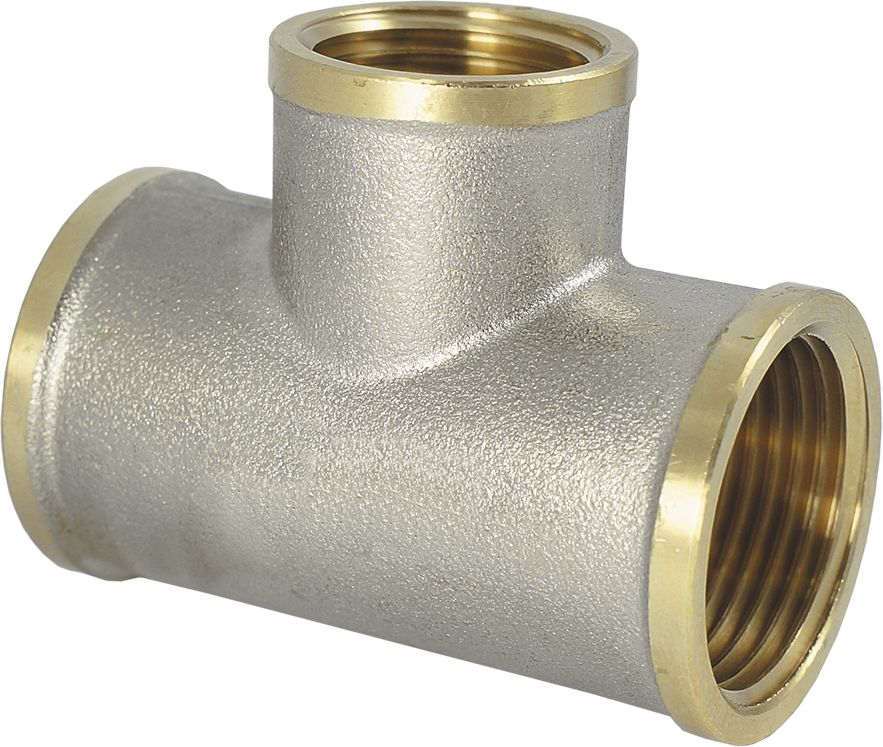 Тройник Smart NS, резьба: внутренняя-внутренняя, 3/4 х 1/2 х 3/4ИС.072234Тройник SMART NS 3/4 х 1/2 х 3/4 - это резьбовая соединительная деталь, которая используется для создания разъемных резьбовых соединений на трубопроводах холодного питьевого, хозяйственного и горячего водоснабжения, отопления, сжатого воздуха и на технологических трубопроводах, транспортирующих газы и жидкости, неагрессивные к материалу соединителей.Нормативный срок службы: 30 лет.Максимальная рабочая температура: +200°С.Максимальное рабочее давление: 40 бар.