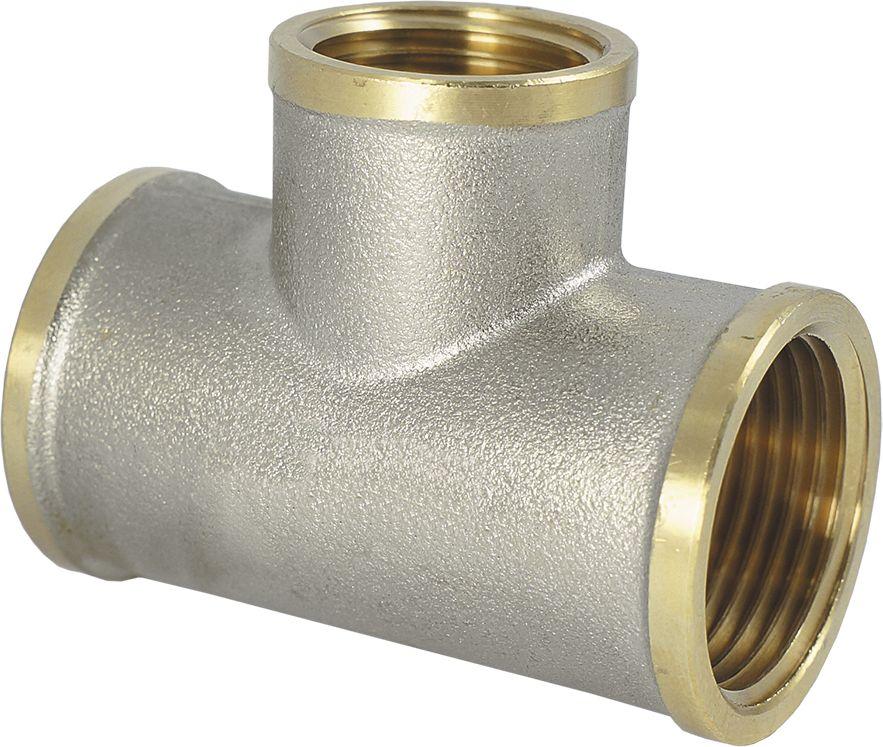 Тройник Smart NS, резьба: внутренняя-внутренняя, 1 х 3/4 х 1ИС.072236Тройник SMART NS 1 х 3/4 х 1 - это резьбовая соединительная деталь, которая используется для создания разъемных резьбовых соединений на трубопроводах холодного питьевого, хозяйственного и горячего водоснабжения, отопления, сжатого воздуха и на технологических трубопроводах, транспортирующих газы и жидкости, неагрессивные к материалу соединителей.Нормативный срок службы: 30 лет.Максимальная рабочая температура: +200°С.Максимальное рабочее давление: 40 бар.