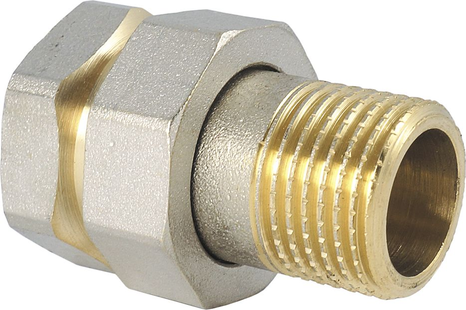 Сгон Smart NS, прямой, американка прямая, резьба: наружная-внутренняя, 1/2ИС.072264Сгон прямой (американка прямая) SMART NS 1/2 предназначен для быстрого и удобного разъединения и соединения труб, а также разнообразных опорно-регулирующих элементов водопровода и отопления.Нормативный срок службы: 30 лет.Максимальная рабочая температура: +200°С.Максимальное рабочее давление: 40 бар.