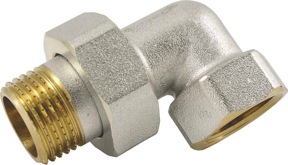 Сгон Smart NS, угловой, американка угловая, резьба: наружная-внутрення, 1ИС.072275Сгон угловой (американка угловая) SMART NS 1 предназначен для быстрого и удобного разъединения и соединения труб, а также разнообразных опорнорегулирующих элементов водопровода и отопления.Нормативный срок службы: 30 лет.Максимальная рабочая температура: +200°С.Максимальное рабочее давление: 40 бар.