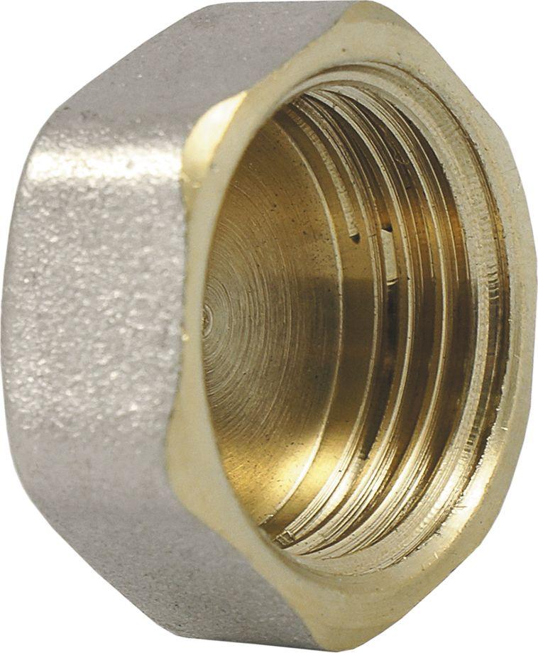 Заглушка в трубу Smart NS, резьба: внутренняя, 1/2ИС.072283Заглушка на трубу 1/2 Smart NS с шестигранной головкой имеет внутреннюю трубную цилиндрическую резьбу, совместимую также с наружной конической трубной резьбой. Предназначена для герметичного закрытия трубопровода.Нормативный срок службы: 30 лет.Максимальная рабочая температура: +200°С.Максимальное рабочее давление: 40 бар.