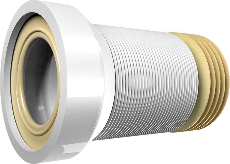 Слив тонкостенный (гофра) для унитаза Unicorn, армированный, 350 мм. T350ИС.110331Слив тонкостенный для унитаза Unicorn - это гибкая водосливная арматура, которая предназначена для присоединения сантехнического оборудования к канализационной системе. Гофра является универсальным средством для монтажа сантехнических изделий, возможна установка унитаза с любой системой слива. Слив изготовлен из термопластичных материалов, не теряющих прочности при растягивании и нагреве. Слив армированный, поэтому более жесткий и прочный. В качестве армирующего материала использована металлическая проволока, которая усиливает гибкие стенки.
