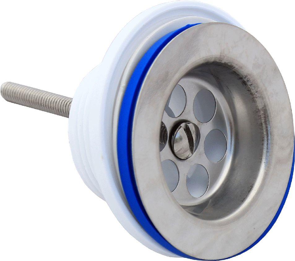 Выпуск Unicorn, диаметр 3.1/2, чашка 112 ммИС.110336Выпуск Unicorn устанавливается в раковину и используется для сливного шланга. Выпуск выполнен из пластика и снабжен чашкой из нержавеющей стали. Резьба: HP (наружная). Диаметр выпуска: 3.1/2. Диаметр чашки: 112 мм.