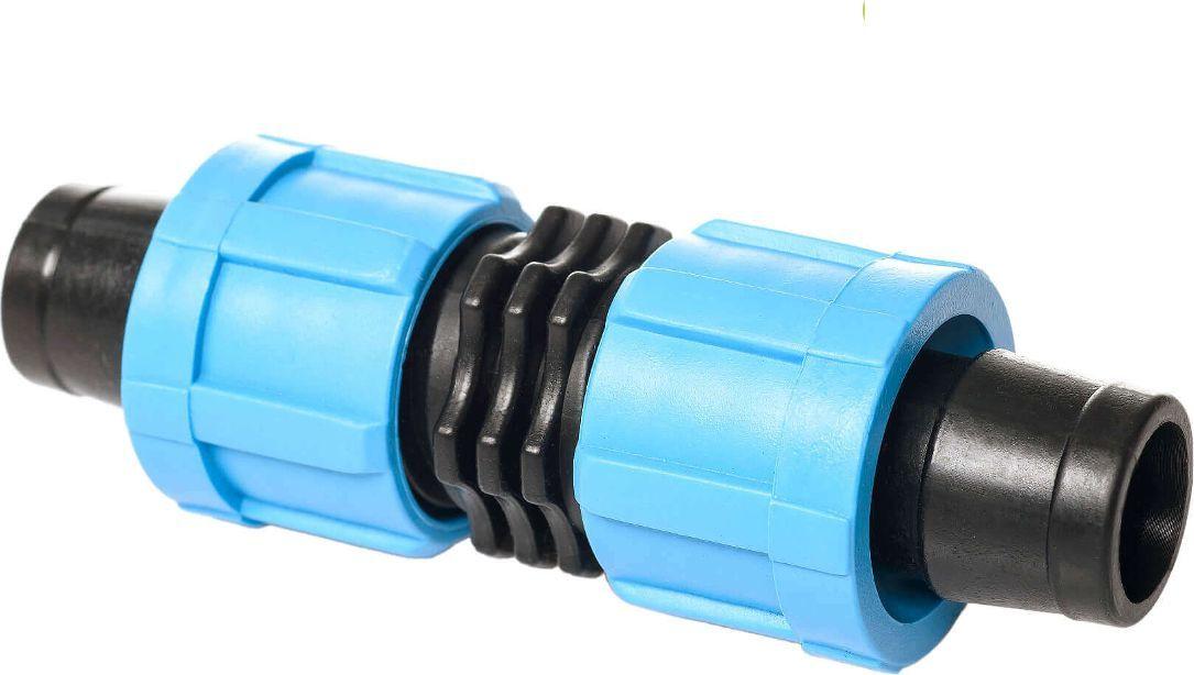 """Ремонтное соединение """"MasterProf"""" предназначено для ремонта места повреждения ленты капельного полива путем врезки фитинга в поврежденный участок. Так же используется для удлинения системы"""