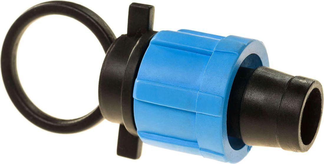 Заглушка для ленты капельного полива MasterProfДС.060087Заглушка MasterProf, выполненная из пластика, позволяет надежно заглушить конец капельной ленты.
