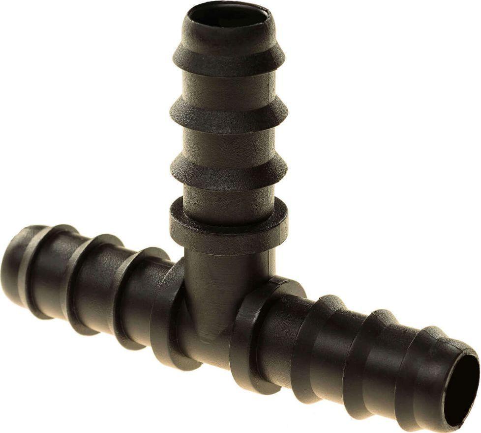 Тройник для капельной трубки МастерПроф, диаметр 16 мм