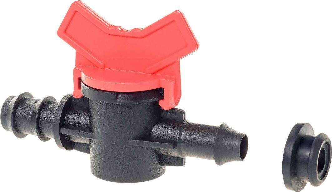 """Кран """"MasterProf"""" выполнен из высококачественного пластика с уплотнительной резинкой. Он предназначен для монтажа крана в трубу с выходом на капельную ленту 16 мм."""