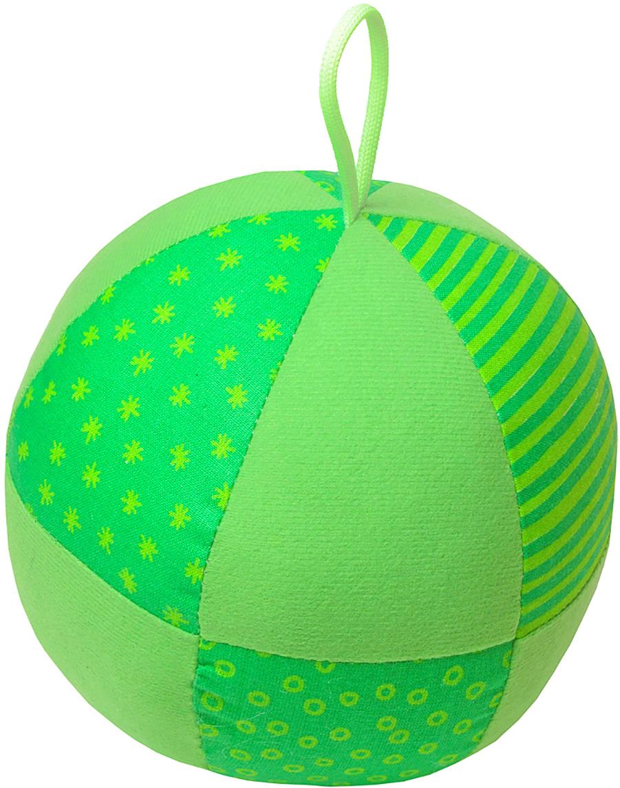 Мякиши Развивающая игрушка Веселый мячик цвет зеленый игрушка погремушка мякиши медвежонок колечко